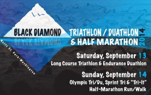 Black Diamond Triathlon Logo