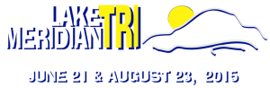 Lake Meridian Triathlon Logo